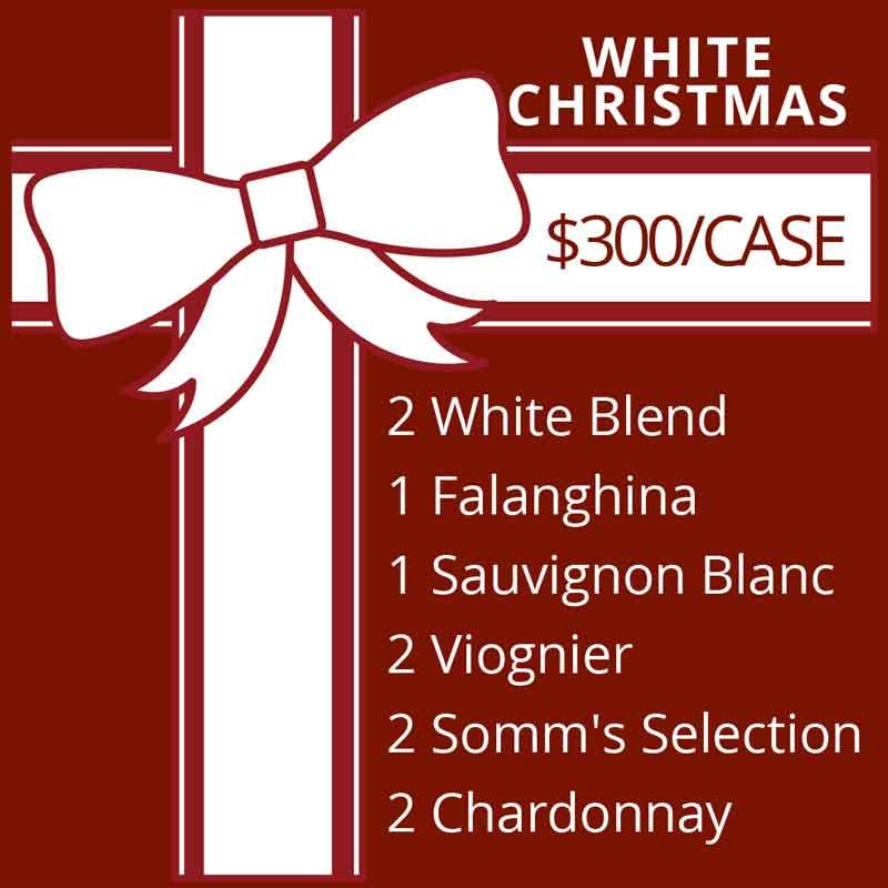 White Christmas Wine Selection